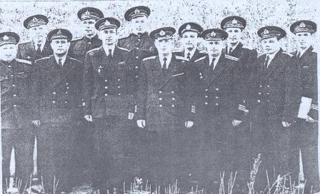 Журавлев с офицерами